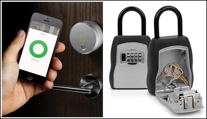 Pametne brave i lokoti za ključeve / Kućanski poslovi