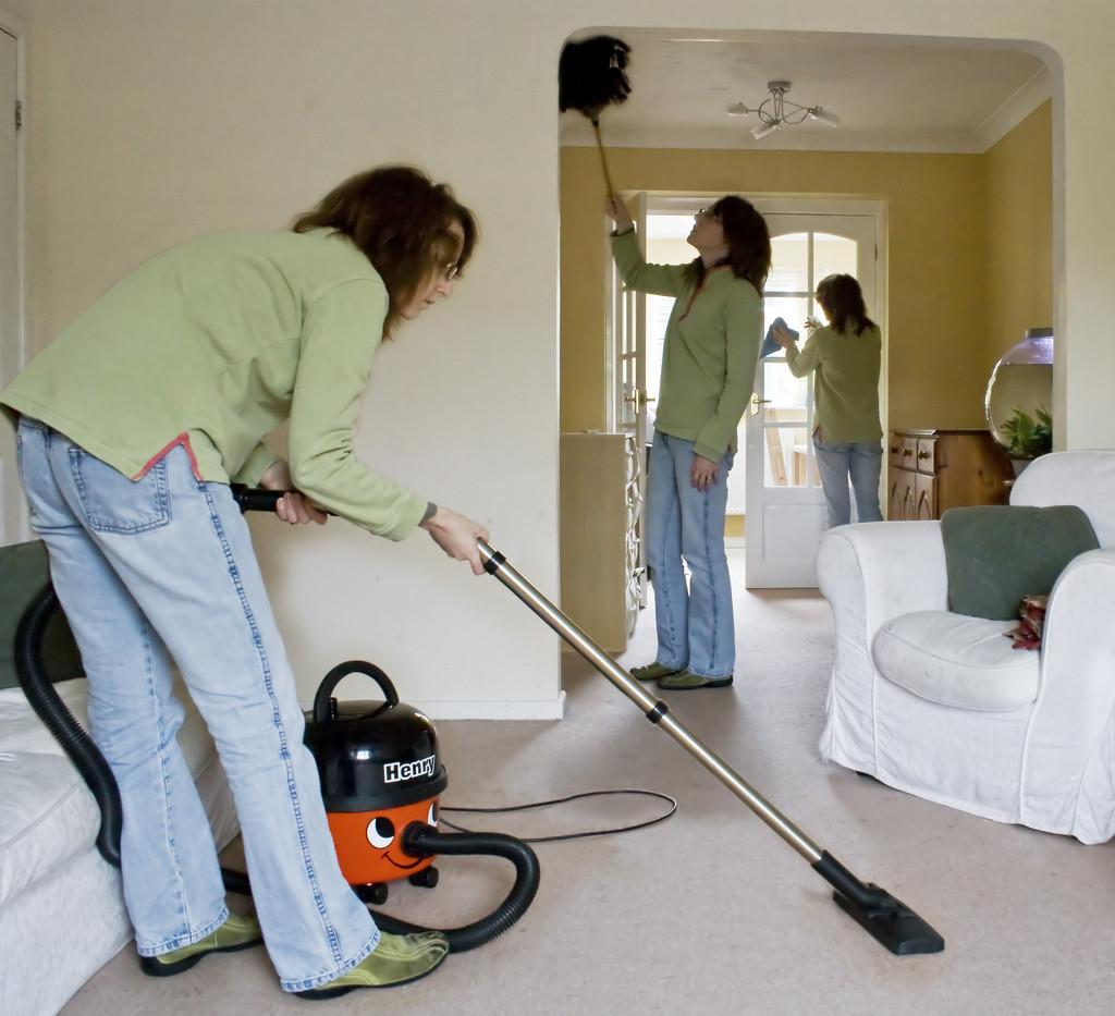 Čišćenje stana nakon turista treba podijeliti u faze Foto: Photopin.com