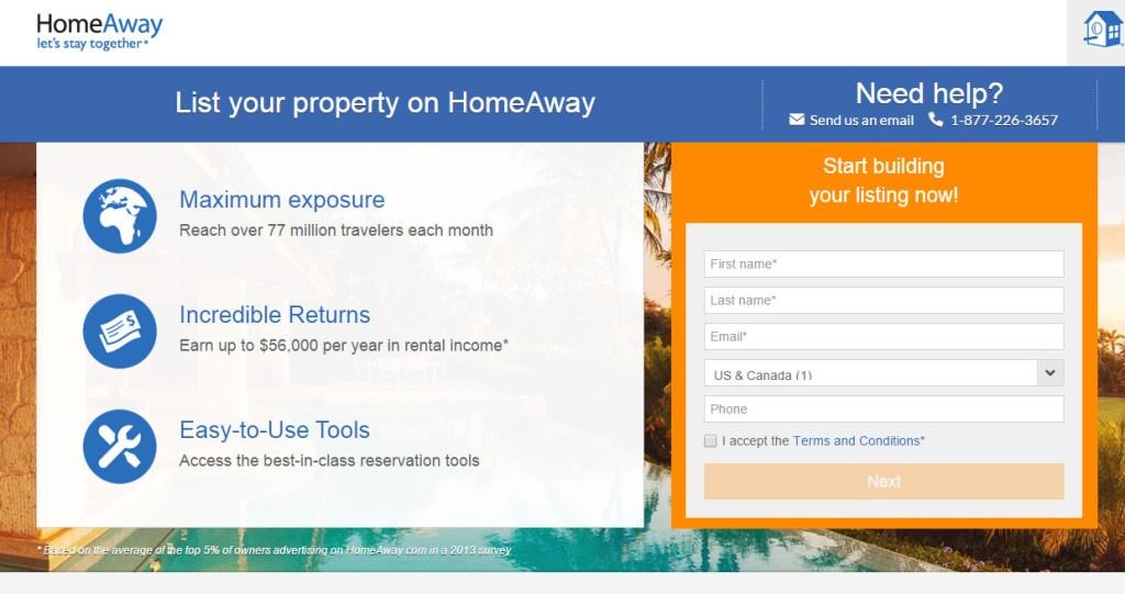 Registracija na HomeAway platformi nije komplicirana Foto: HomeAway.com