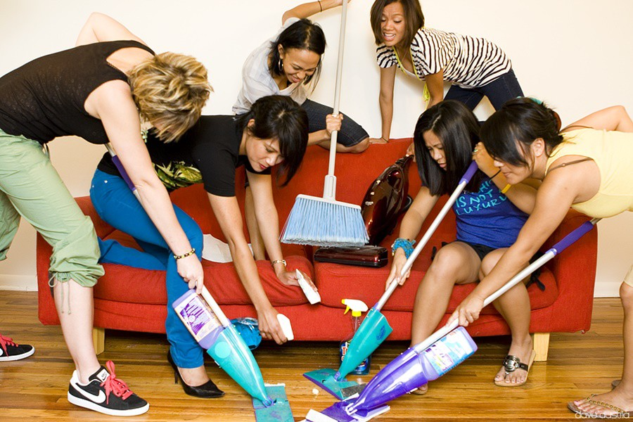 Kućanski poslovi, zabava ili tlaka? Foto: Photopin