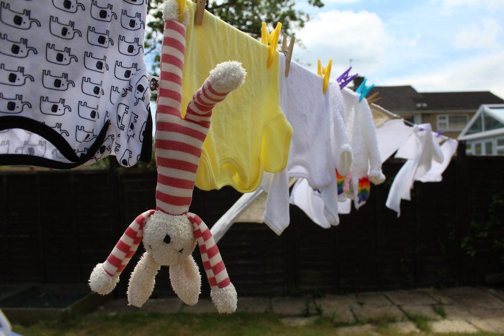 Sušenje rublja na svježem zraku Foto: Photopin