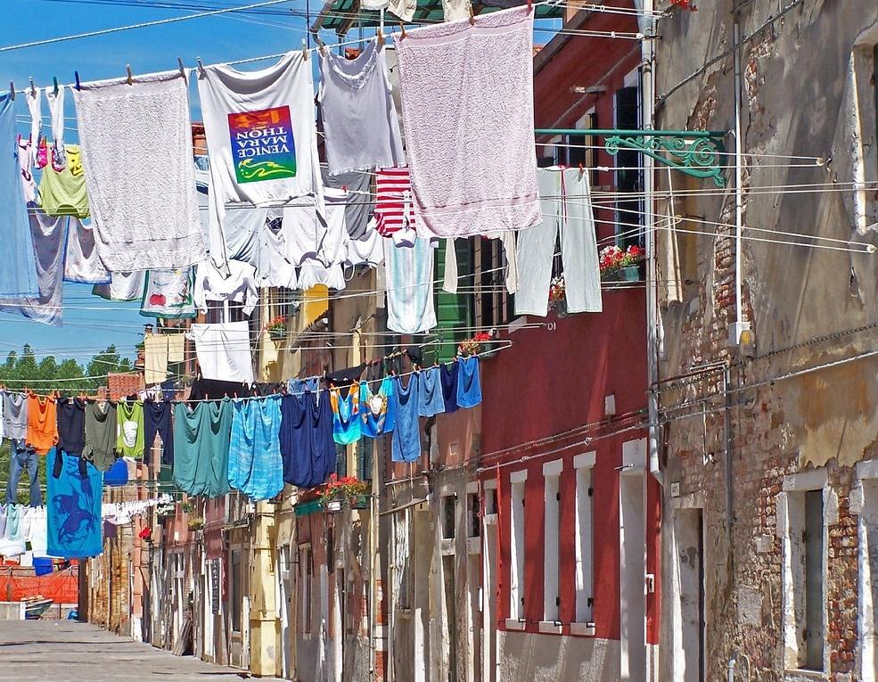 Sušenje rublja na zraku u nekim je mjestima dio lokalnog folklora Foto: Photopin