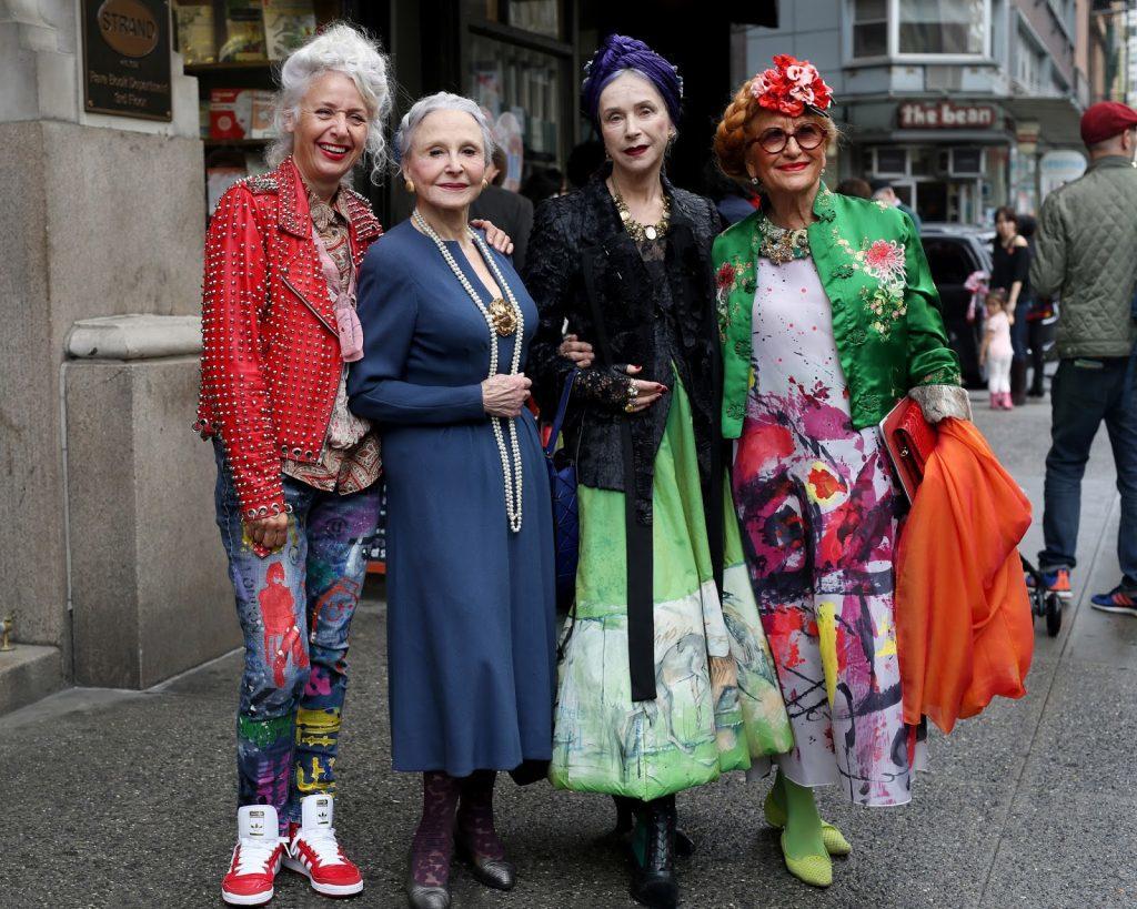 I starije osobe mogu razvijati svoj stil Foto: Advance Style Blog
