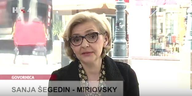 Voditeljica emisije 'Govornica' Foto: YouTube