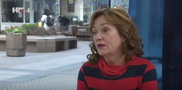 Ankica Livić u 'Govornici' Foto: YouTube